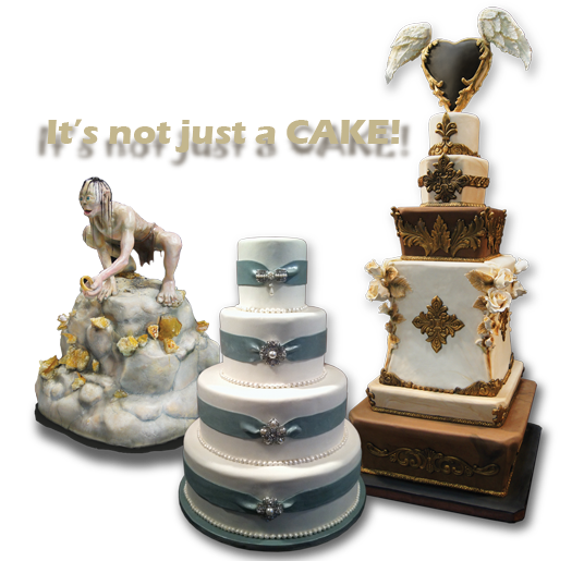 Wedding Cakes, sculpted cakes, and tiered cakes
